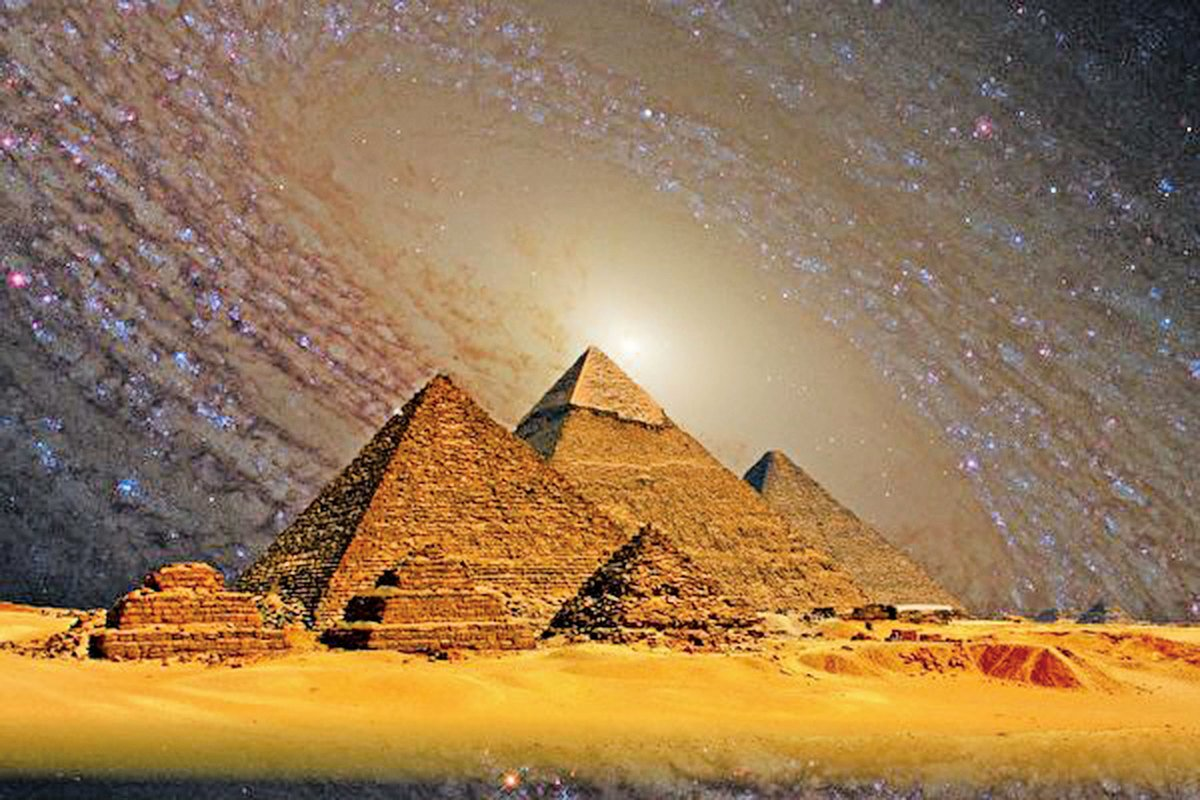 考古學家質疑金字塔並不是古埃及人所建,那會是誰呢?(公有領域)