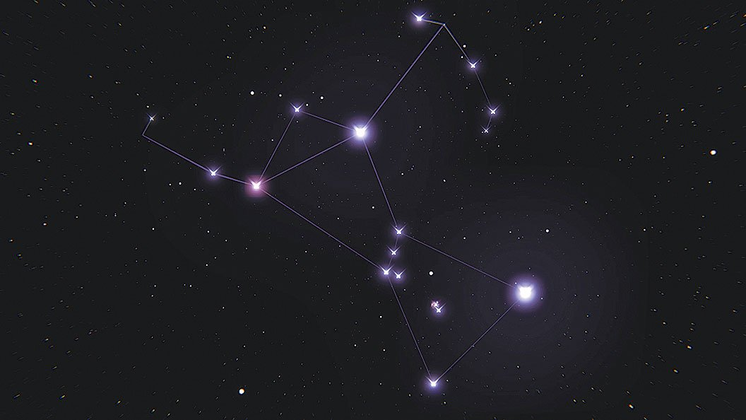 獵戶星座。(Kevin Gill/Flickr)