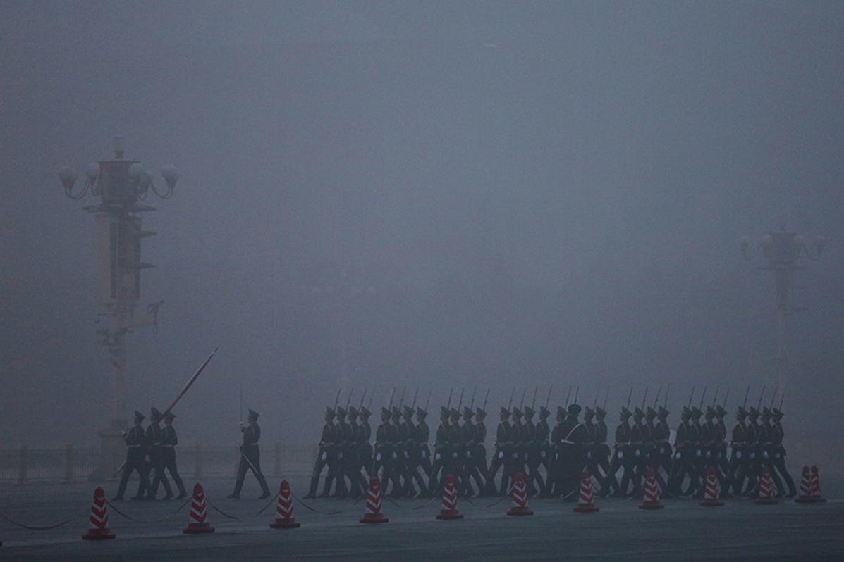 西方智囊警告,中共已經在崩潰的邊緣。百萬港人上街「反送中」,正在敲響中共喪鐘。中國巨變在即。(Getty Images)