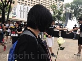 【6.16反送中】母親帶淚上街反惡法:向走最前的年輕人致敬