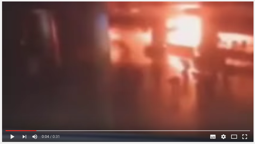 土耳其官方發佈最新消息指,伊斯坦堡機場恐襲遇害人數增至41人,受傷人數超過230人。(YouTube擷圖)