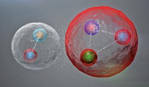 ,新發現五夸克粒子:介子和重子的奇特組合