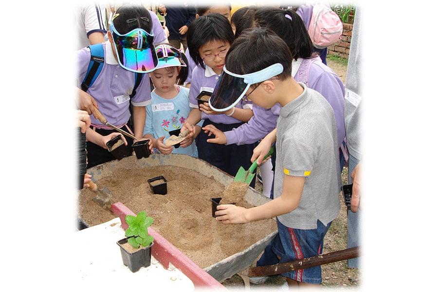 在農場舉辦的教育活動。(受訪者提供)
