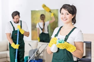 清潔工的工作