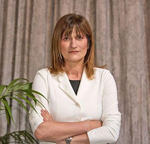 阿姆斯特丹的歐洲問題專家Nevenka Tromp博士出席了開庭。(冠奇/大紀元)