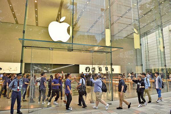 分析師發佈報告稱,明年蘋果將推出兩部首款5G iPhone,使用高通公司的數據機。(AFP)
