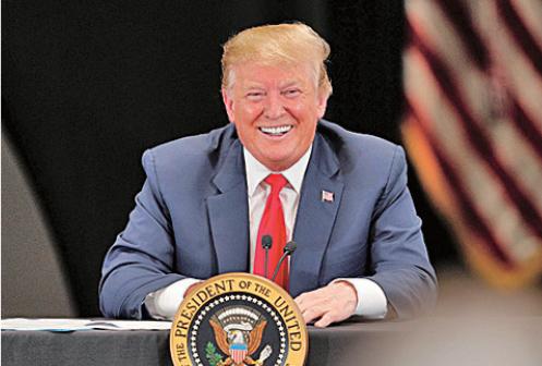 美國總統特朗普(Getty Images )