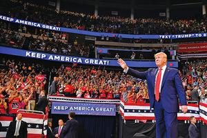 特朗普宣佈競選連任