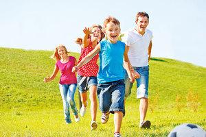 讓孩子跑到人生終點