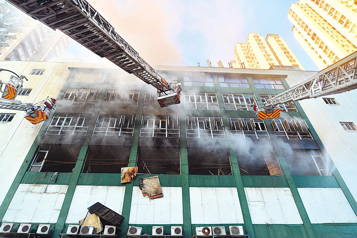 九龍灣時昌迷你倉發生的四級火警,引起大眾關注劏房的安全隱憂。(大紀元資料圖片)