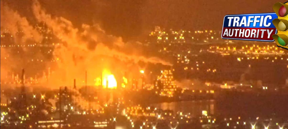 費城煉油廠發生大爆炸 巨響傳到新澤西