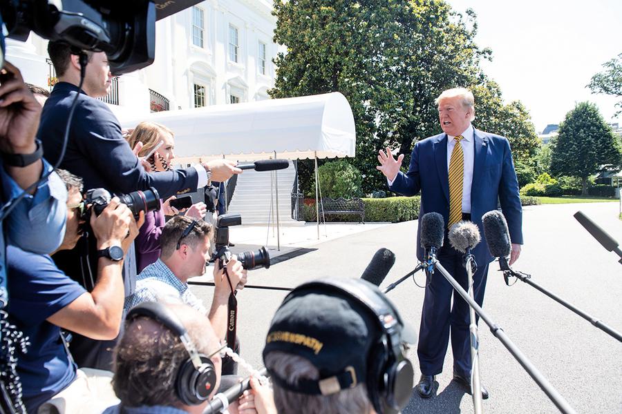 特朗普:本周進一步制裁伊朗