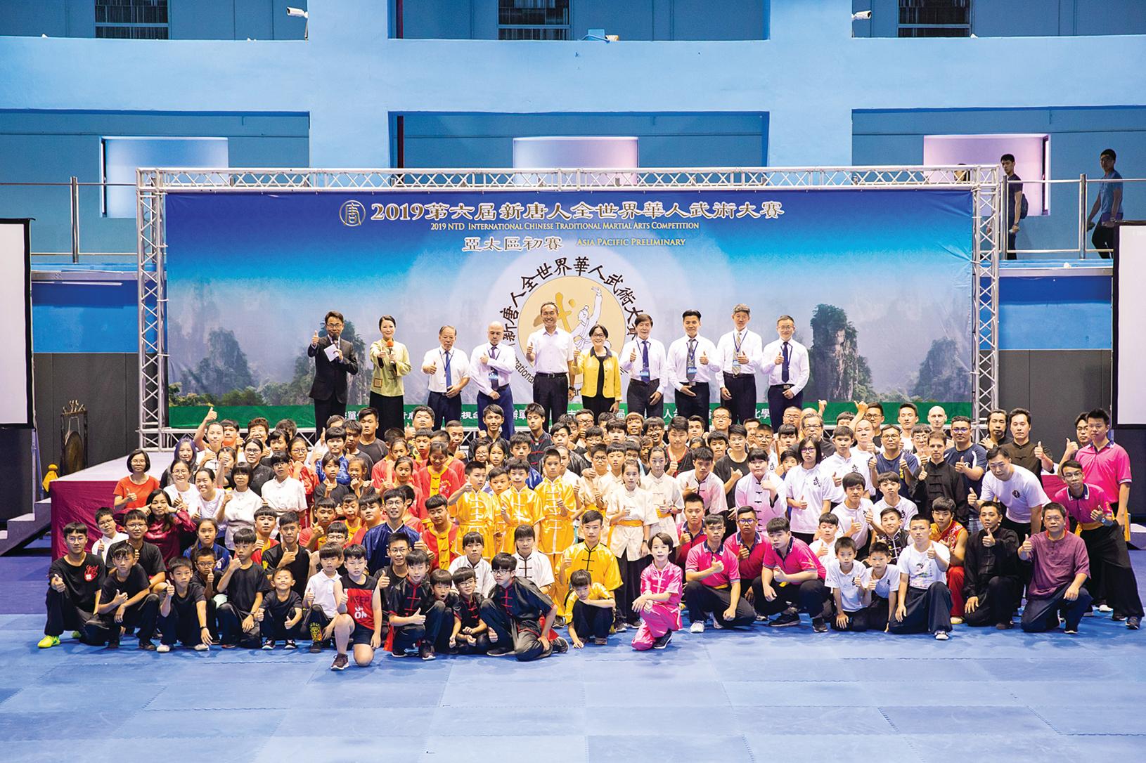 第六屆「新唐人全世界華人武術大賽」亞太區初賽6月8日在台北體育館舉行,本次比賽高手雲集,共有178位選手參賽。(陳柏州/大紀元)