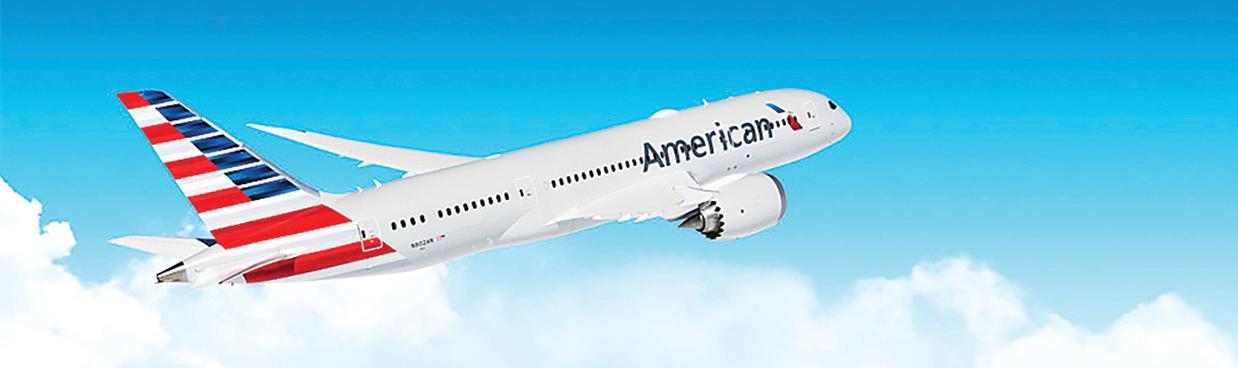 美航主要客機提供 衛星Wi-Fi