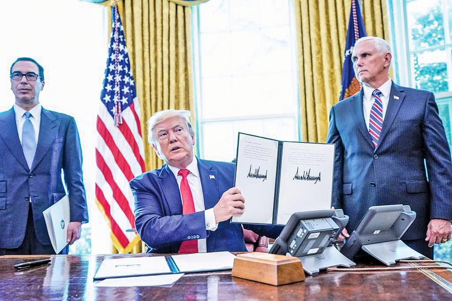 特朗普再簽行政令 嚴厲制裁伊朗最高領導人