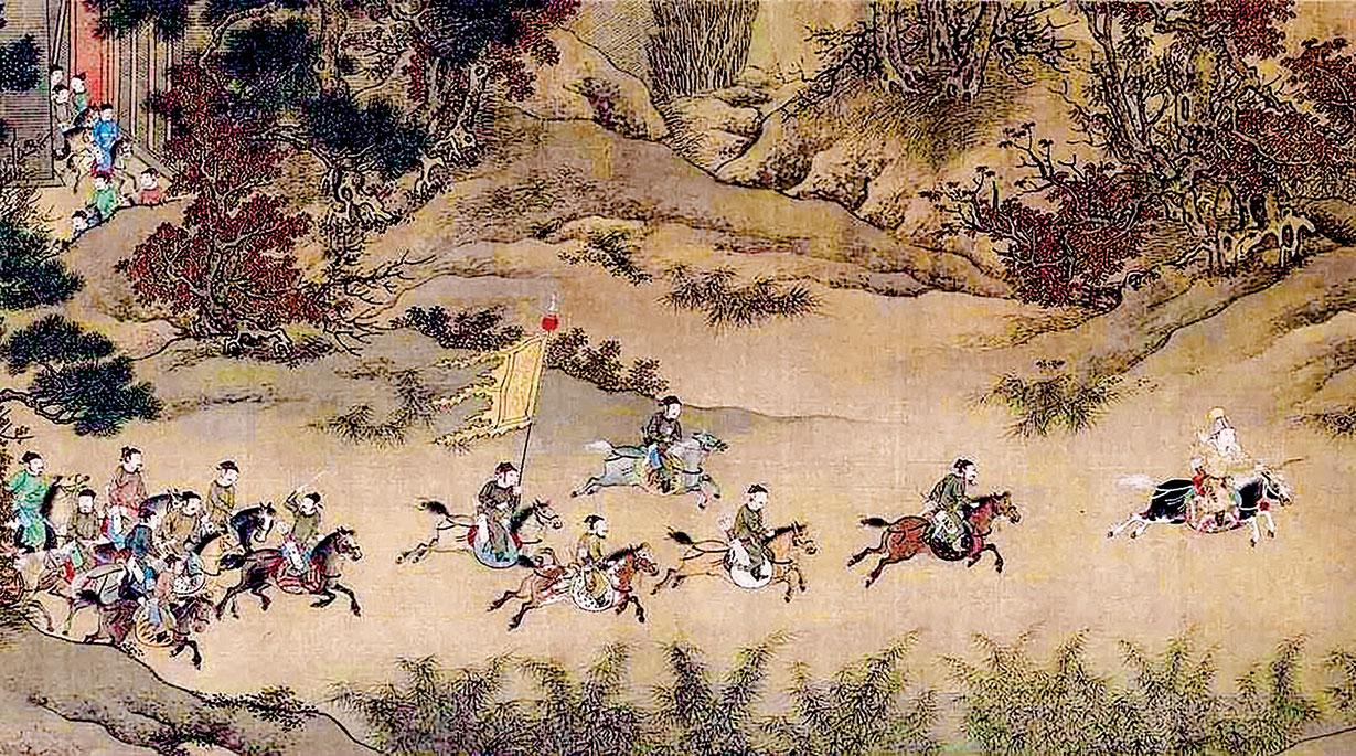 欽宗按照何栗的建議,以康王趙構為天下兵馬大元帥。(公有領域)