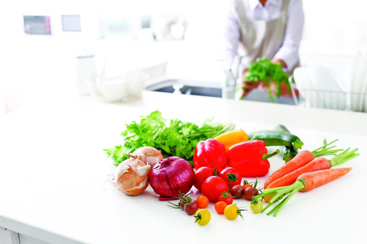 食材本身就有很多不同的味道,加鹽後味道會變得更豐富。