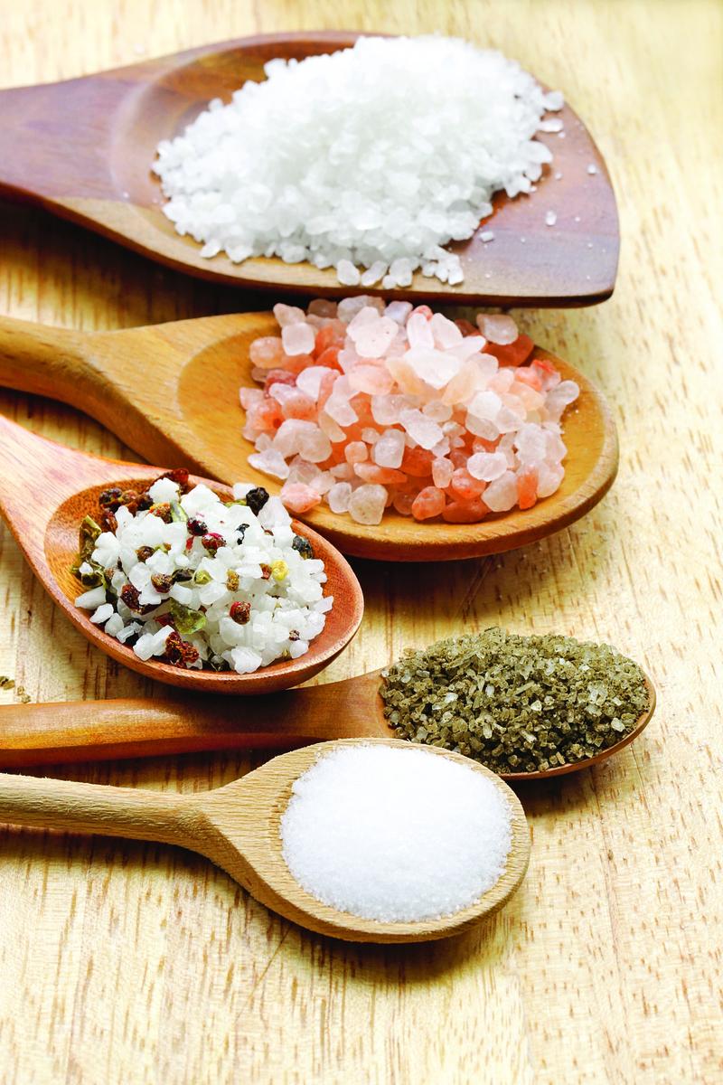 可以選擇不同的鹽來搭配。