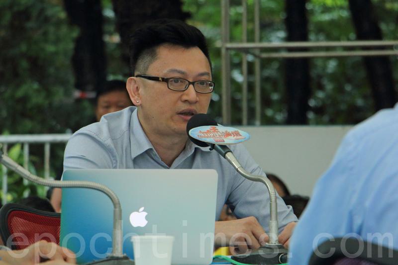 美國克萊姆森大學(Clemson University)經濟系副教授兼香港中文大學亞太研究所成員徐家健。(蔡雯文/大紀元)