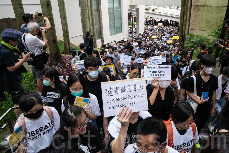 千五港人到G20國領事館促施壓中共