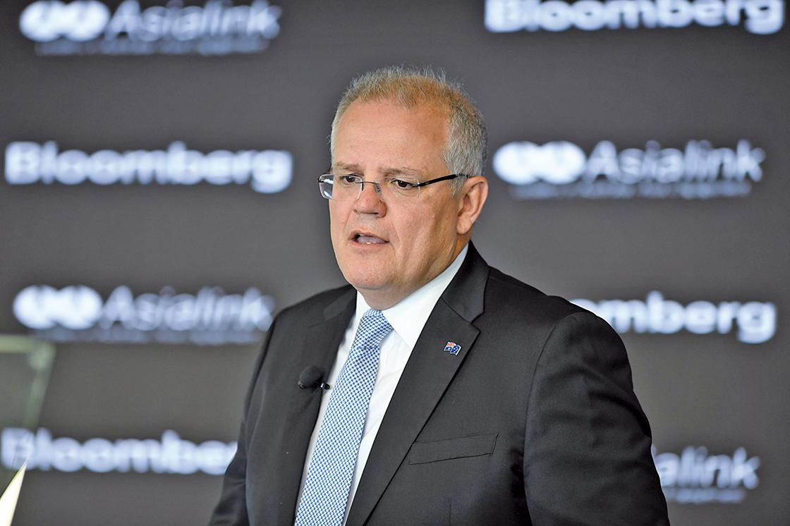 澳洲總理莫里森表示,澳洲不會坐視中美兩國貿易戰繼續升級傷及它國,將會採取更強硬的立場應對。(AAP)
