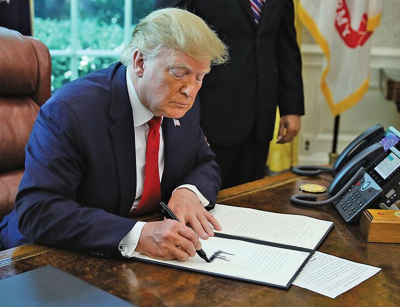 特朗普:伊朗若攻擊 將遭勢不可擋的武力回應