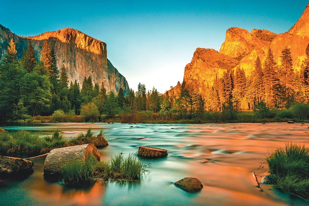 優勝美地國家公園景色壯麗。