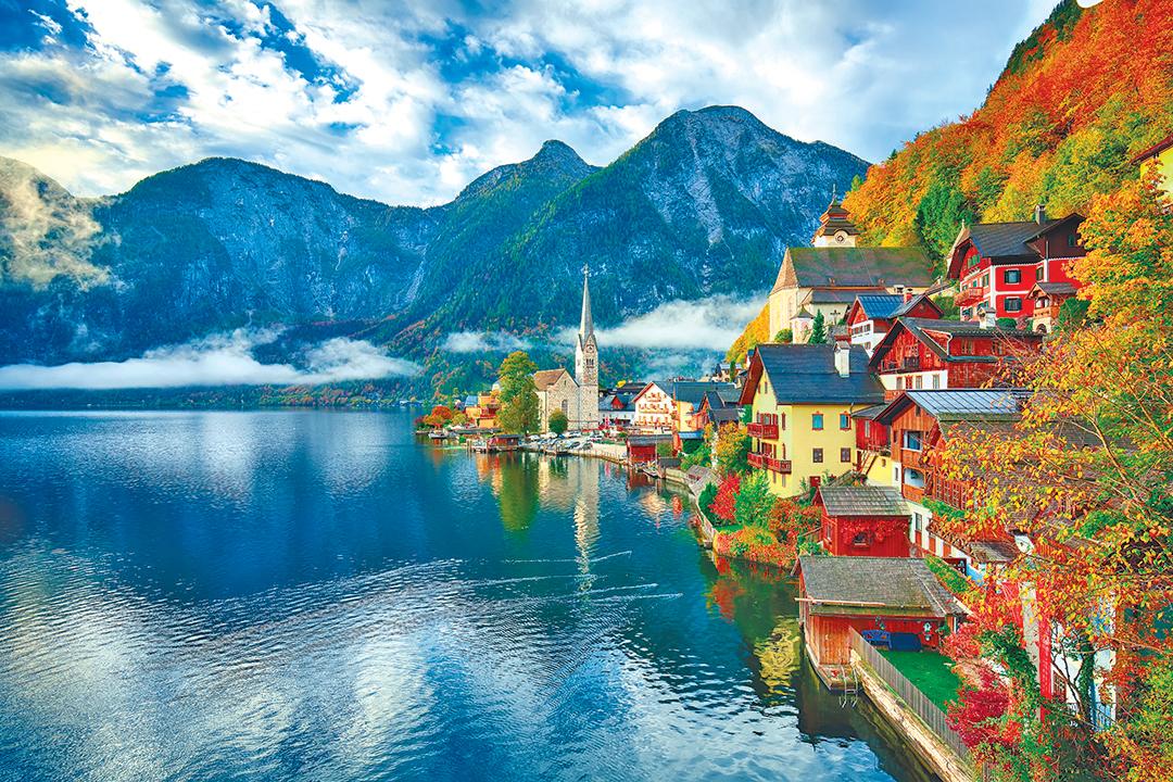 世界最美小鎮──哈爾施塔特。