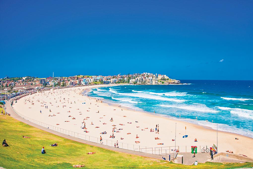 悉尼邦代海灘乃避暑佳地。