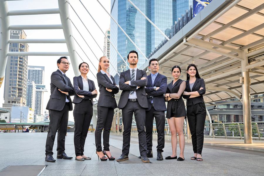 企業家與他的學生們