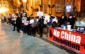 居澳港人G20前集會 籲澳政府關注香港人權