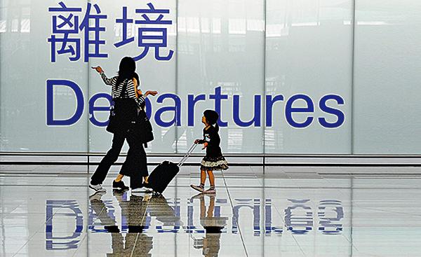 政府擬修訂《逃犯條例》一事,加劇部份人對香港前景的擔憂從而觸發移民潮。(Getty Images)
