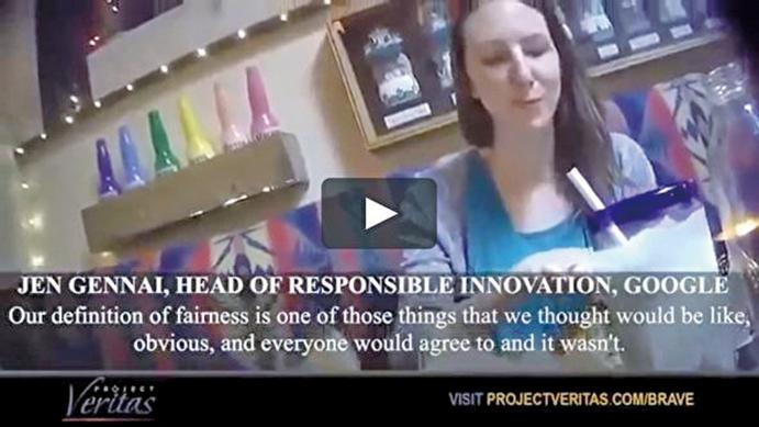 谷歌高管詹納(Jen Gennai)在影片中說,谷歌信任安全部從2016年就開始為2020大選做準備。(Project Veritas影片截圖)
