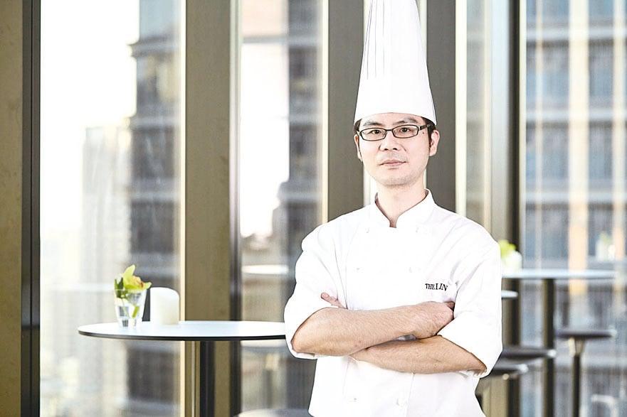 台中林酒店西點主廚林倍生。
