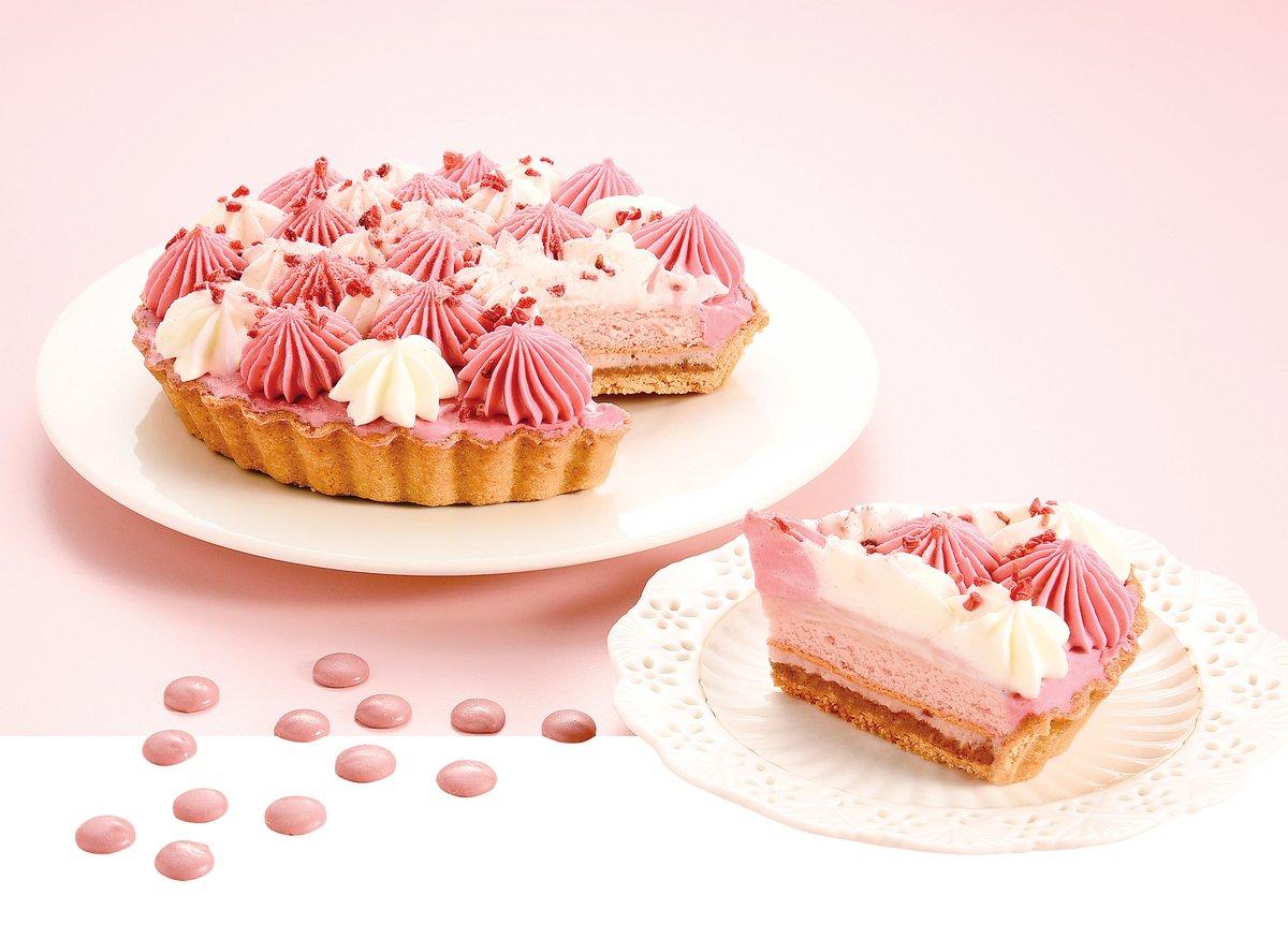 亞尼克的「粉紅露比」也是紅寶石朱古力系列的手工派塔。