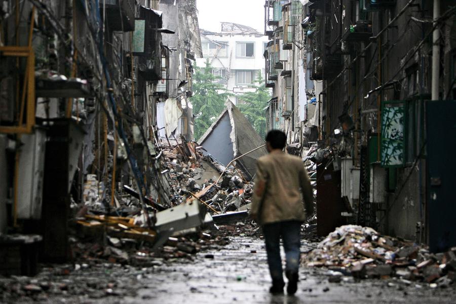 汶川地震 山崩地裂那一刻