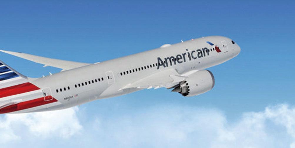 美國航空在主要的機隊上導入衛星無線網絡Wi-Fi,在飛行中提供快速寬頻網絡。(American Airline)