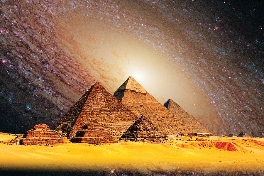 史前文明的產物?埃及三大金字塔之謎