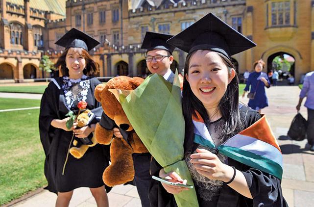 很多清華畢業生去美國深造後直接留美工作,並沒有返回國內。圖為資料圖。(Getty Images)