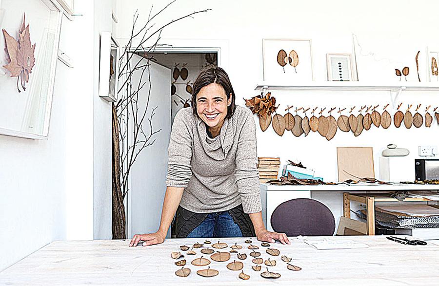 針線和枯葉的藝術 蘇珊娜鮑爾的作品欣賞