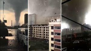 龍捲風襲遼寧 近200死傷 市民:磚頭在天上飄
