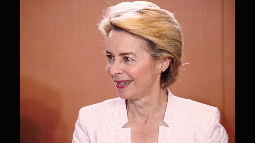 德國國防部長馮德賴恩(Ursula Gertrud Von Der Leyen)成為歐盟委員會主席提名人。(Getty Images)