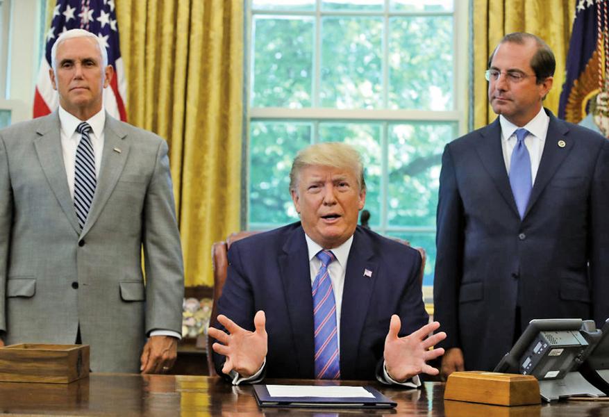 特朗普:繼續推進增列國籍問題