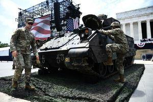特朗普國慶閱兵 部份最新武器將亮相