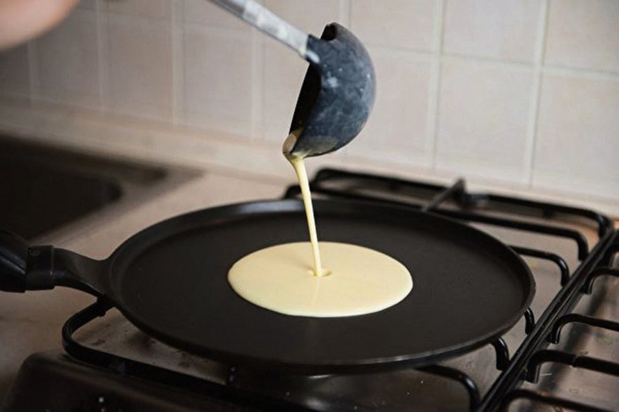 流體力學助力 製作完美煎餅
