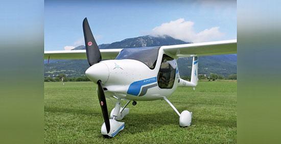 斯洛文尼亞的一家公司銷售的小型電動飛機Pipistrel Alpha,每飛行1小時耗電成本在4~6美元之間。(AVweb授權影片截圖)