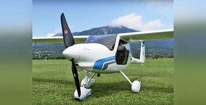 小型電動飛機問世