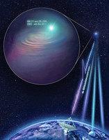 天文學家精確定位射電爆來源地