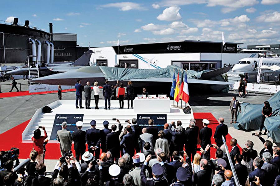 法德西三國研製第六代戰機