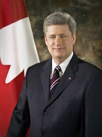 加拿大總理前斯蒂芬・哈珀(總理辦公室提供)